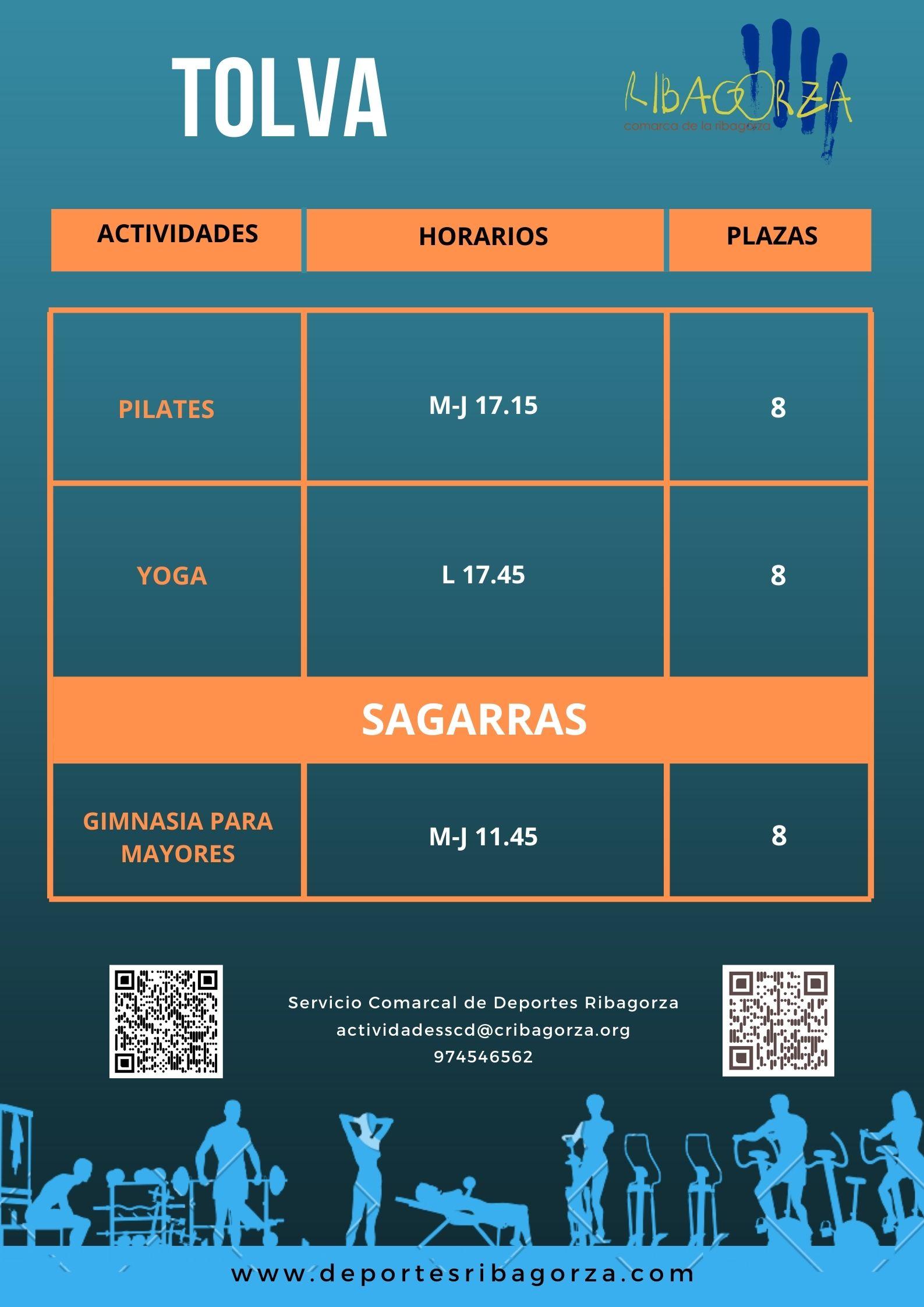 Tolva - Sagarras
