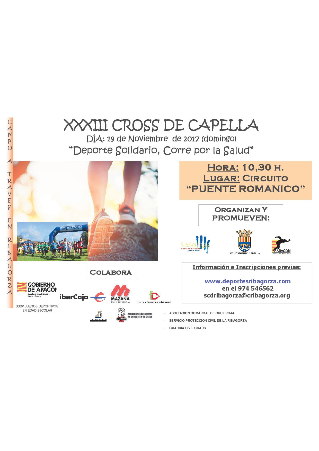 XXXIII CROSS DE CAPELLA