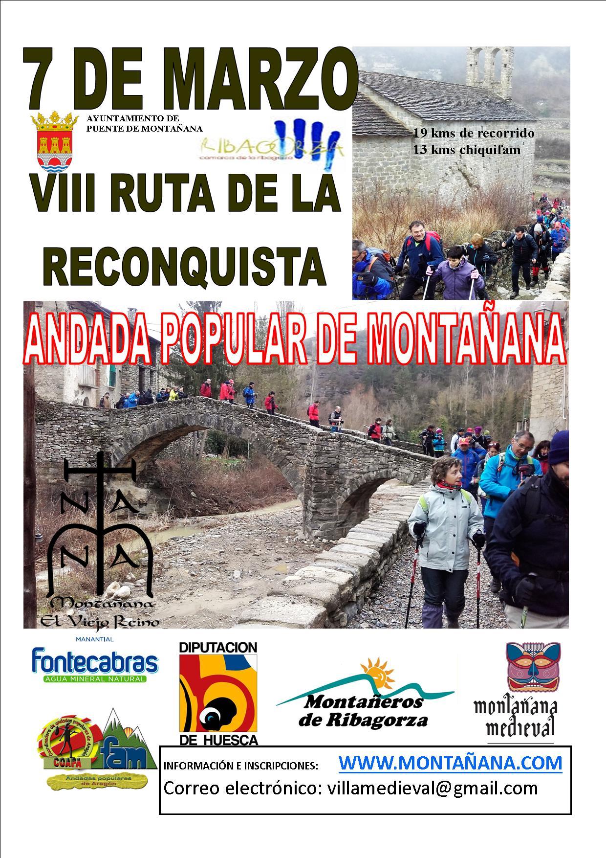 VII RUTA DE LA RECONQUISTA 9/3/2019