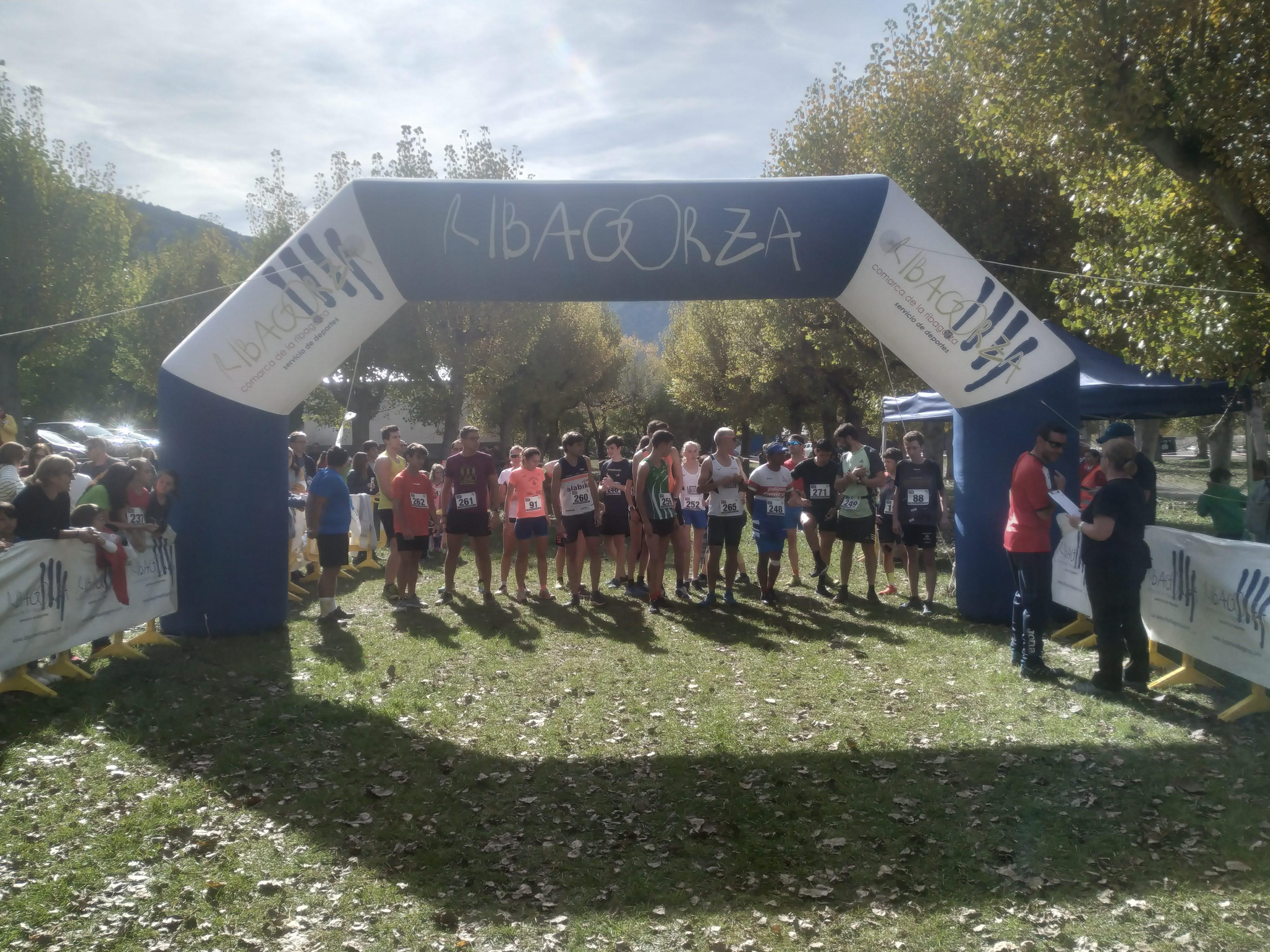 Gran arranque de la temporada de cross de Ribagorza en Castejón de Sos