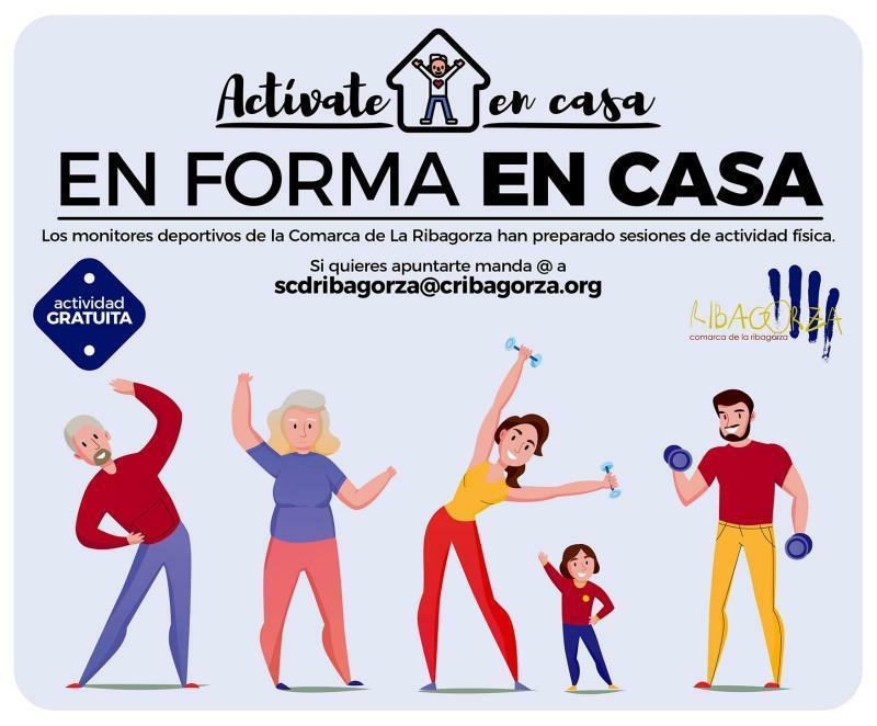 ACTÍVATE EN CASA