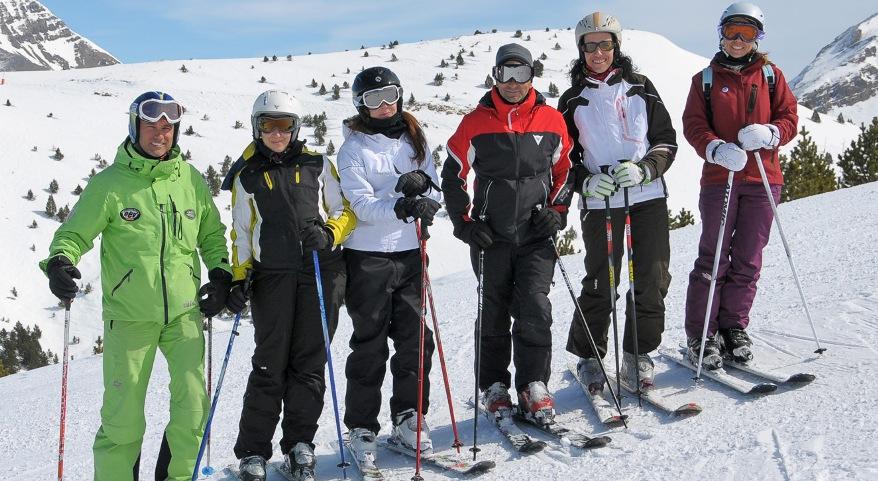 Campaña Esqui Ribagorza 2014